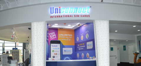 Buy International SIM Card at Airport
